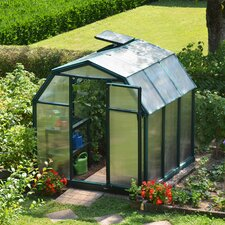 "EcoGrow 2 Twin Wall 6' 4"" H x 6' 5"" W x 6' 5"" D Polycarbonate 4 mm Greenhouse"