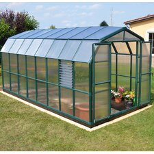 "Prestige 2 Twin Wall 7' 9"" H x 8' 9"" W x 20' 7"" D Polycarbonate 4 mm Greenhouse"