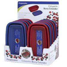 12 Piece Display Collapsible Berry Colander