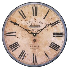 Paris Hotel Wall Clock