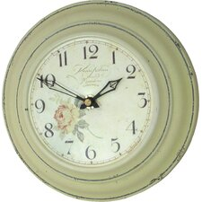 Tin Karin Nilsson Dial Wall Clock