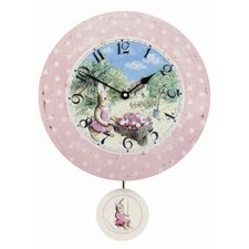 Swinging Susie Pendulum Wall Clock
