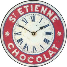 St. Etienne Chocolate Wall Clock