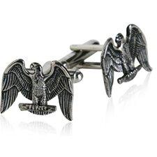 American Eagle Cufflinks in Silver