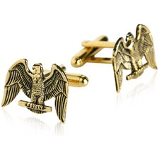 American Eagle Cufflinks in Gold