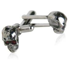 Skull Cufflinks in Silver