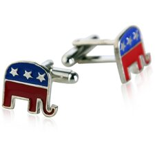 Republican Elephant Cufflinks