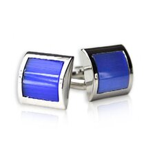 Electric Cufflinks in Blue