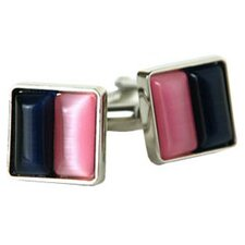 Cufflinks in Pink / Blue