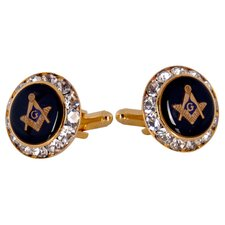 <strong>Cuff-Daddy</strong> Masonic Cufflinks