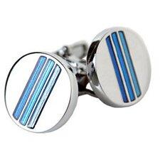 Tonal Cufflinks in Blue