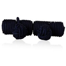 Knots Cufflinks in Navy