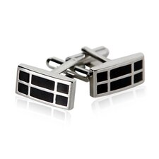<strong>Cuff-Daddy</strong> Designer Cufflinks in Black