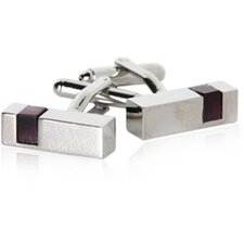 Cut Outs Cufflinks in Purple