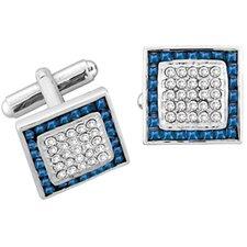 Framed Crystals Cufflinks