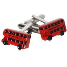 Two Level British Bus Cufflinks