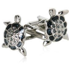 <strong>Cuff-Daddy</strong> Unique Turtle Cufflinks