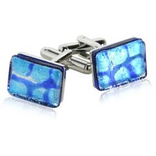 Micro-layer Cufflinks in Blue