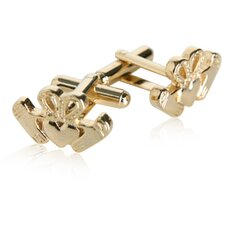 Claddagh Cufflinks in Gold