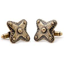 Bronze Badge Cufflinks