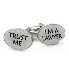 Trust Me Lawyer Cufflinks