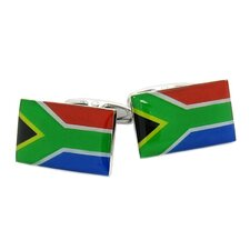 South Africa Flag Cufflinks