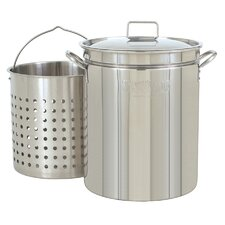 Stainless Steel Stockpot with Boil Basket