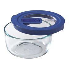 No Leak Lids 2-Cup Round Storage Dish