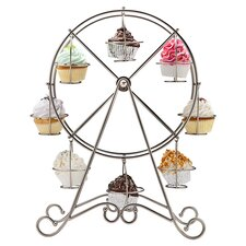 <strong>Godinger Silver Art Co</strong> Ferris Wheel Cupcake Holder