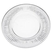 """Feu 9"""" Crystal Salad Plate (Set of 4)"""