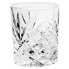 <strong>Godinger Silver Art Co</strong> Dublin Crystal Double Old Fashioned Glass (Set of 4)