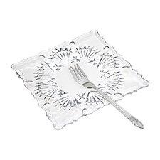 "8 Piece Lorelei 6.88"" Crystal Dessert Set"