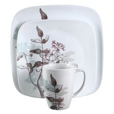 Square™ Twilight Grove 16 Piece Dinnerware Set