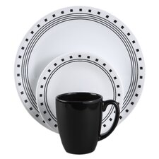<strong>Corelle</strong> Livingware City Block 16 Piece Dinnerware Set