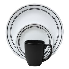 Livingware Classic Cafe 16 Piece Dinnerware Set