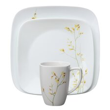 <strong>Corelle</strong> Square Kobe 16 Piece Dinnerware Set