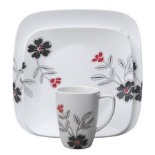 <strong>Corelle</strong> Square 16 Piece Dinnerware Set