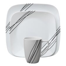 <strong>Corelle</strong> Simple Sketch 16 Piece Dinnerware Set
