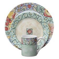 <strong>Corelle</strong> Impressions Watercolors 16 Piece Dinnerware Set