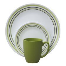 <strong>Corelle</strong> Livingware Garden Sketch Bands 16 Piece Dinnerware Set