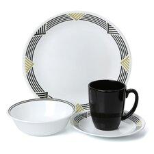 Livingware Global Stripes 16 Piece Dinnerware Set