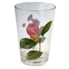 Coordinates 8 Oz Acrylic Drinkware with Camellia Design (Set of 6)