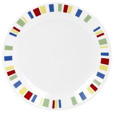 "Livingware 10.25"" Memphis Dinner Plate (Set of 6)"