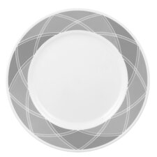 "Vive Savvy Shades Grey 10.75"" Dinner Plate"