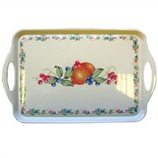 Abundance Rectangular Serving Tray