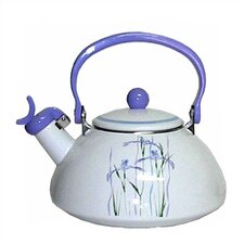Impressions 2.5-qt. Shadow Iris Whistling Tea Kettle