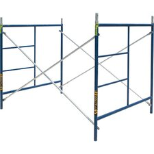 5' H x 7' W x 5' D Contractor Series Single Lift Scaffolding System