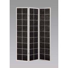 "70.25"" x 52"" Meki 3 Panel Room Divider"