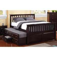 Barchan Twin Slat Bed