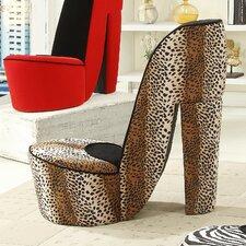 Leopard High Heel Chair